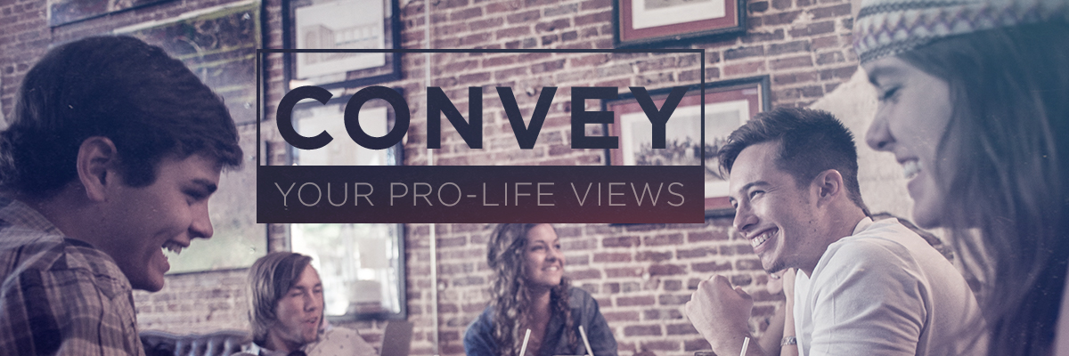 How to answer when asked why you're pro-life